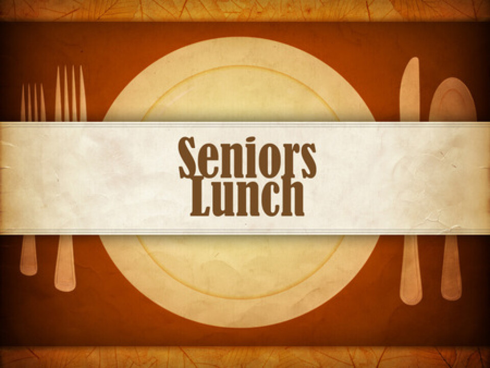 55+ Seniors' Fellowship & Luncheon