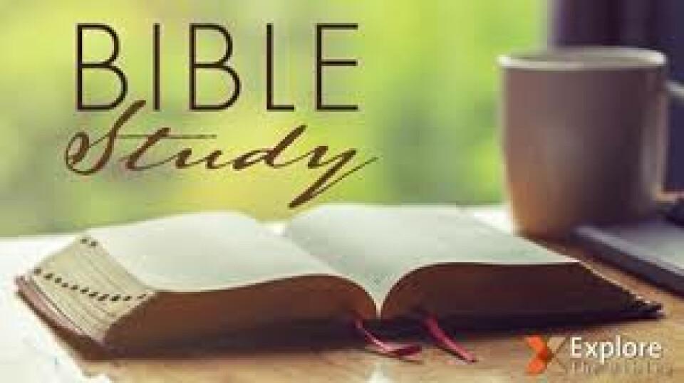 Wednesday Morning Bible Study