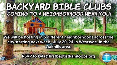 Kamloops Backyard Bible Club